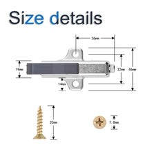 Load image into Gallery viewer, 4 Pcs Cabinet Hardware Close Damper for Kitchen Cupboard Door-INC-YF06-132