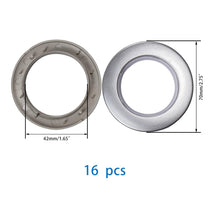 Load image into Gallery viewer, 16Pcs ABS Plastic Low Noise Curtain Grommets-INC-HW18-073