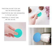 Load image into Gallery viewer, 10 Pcs Silicone Round Wall Protector Door Knob Stopper-INC-HW13-198