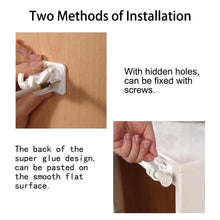 Load image into Gallery viewer, 4 Pack Selfadhesive Curtain Rod Bracket-INC-HW05-145
