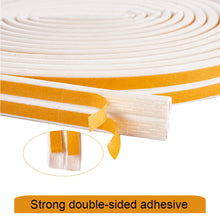 Load image into Gallery viewer, 20-Meter White Seal Strip for Doors and Windows-INC-HW07-101