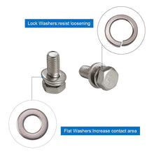 Load image into Gallery viewer, 5 Sizes Lock Washers Kits-INC-HW01-078