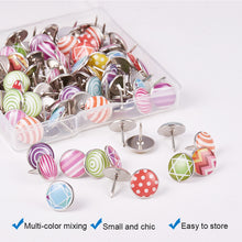 Load image into Gallery viewer, 100 Pieces Mixed Decorative Thumbtacks-INC-HW13-188