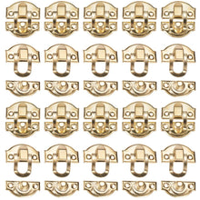 Load image into Gallery viewer, 20 Pack 29mmx26mm Retro Box Latch Hook Hasp with Screws-INC-HW13-020