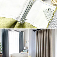 Load image into Gallery viewer, Curtain Hooks, 60 Pcs Stainless Steel Curtain Pleater Tape Hooks-INC-HW13-191