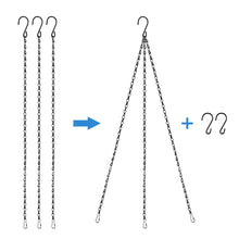 Load image into Gallery viewer, 8pcs 23.4-INCh Stainless Steel Hanging Chains-INC-YF05-150