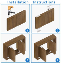 Load image into Gallery viewer, 2 Sets Door Pivot 360 Degree Hinges-INC-HW18-084