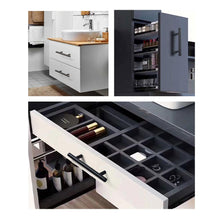 Load image into Gallery viewer, 96mm Black T Bar Kitchen Drawer Handles Furniture Dresser Cabinet Hardware-INC-HW14-033