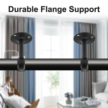 Load image into Gallery viewer, 2pcs Ceiling Mount Bracket Curtain Rod Holders INC-YF05-088