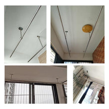 Load image into Gallery viewer, 2pcs Stainless Steel Ceiling-Mount Bracket-INC-YF05-146