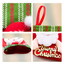 Load image into Gallery viewer, 12 Pcs 4 Styles Mini Christmas Stockings Gift Treat Bag Tableware Holders-INC-HW00-003