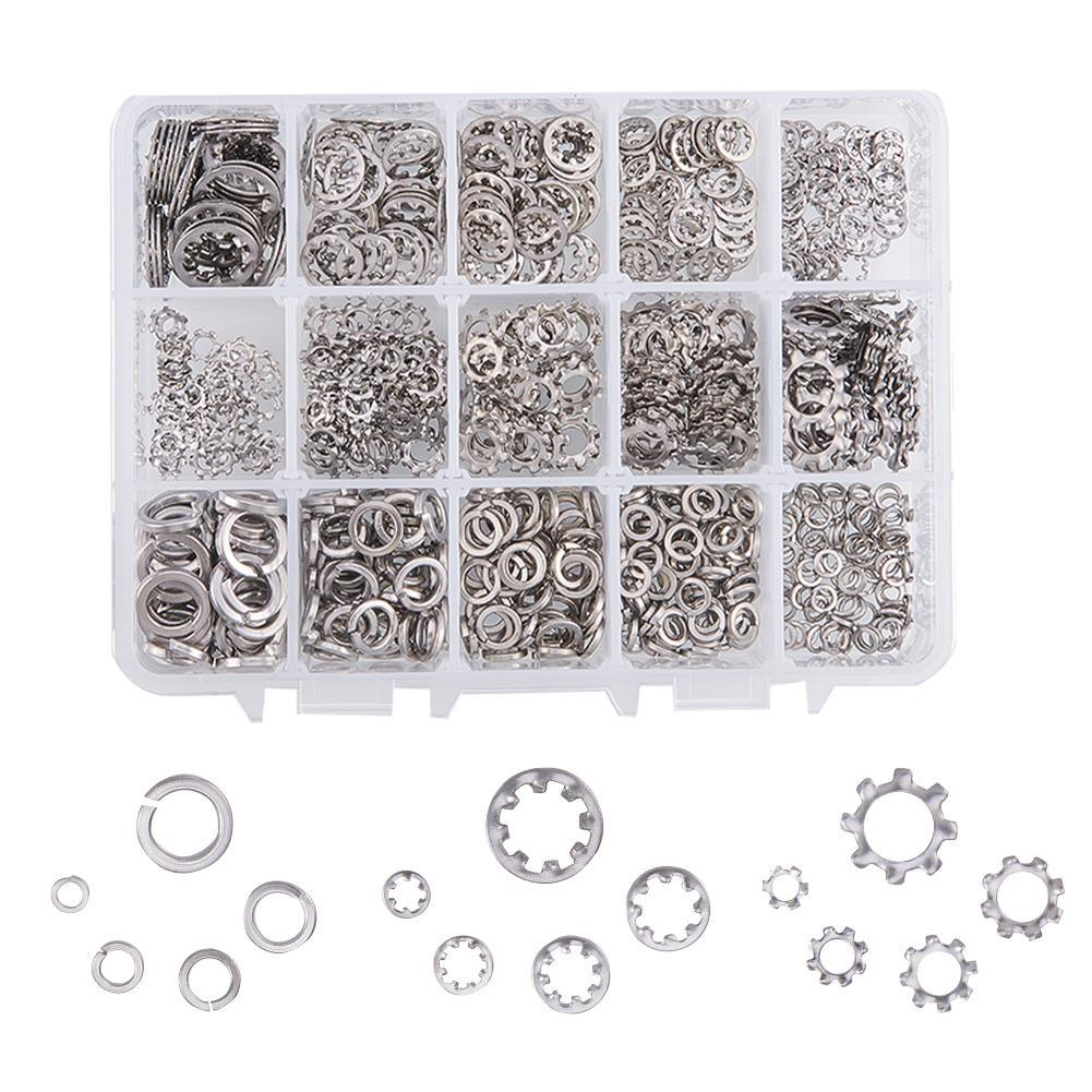 5 Sizes Star Washers Kits-INC-HW01-076