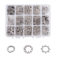 Load image into Gallery viewer, 5 Sizes Star Washers Kits-INC-HW01-076