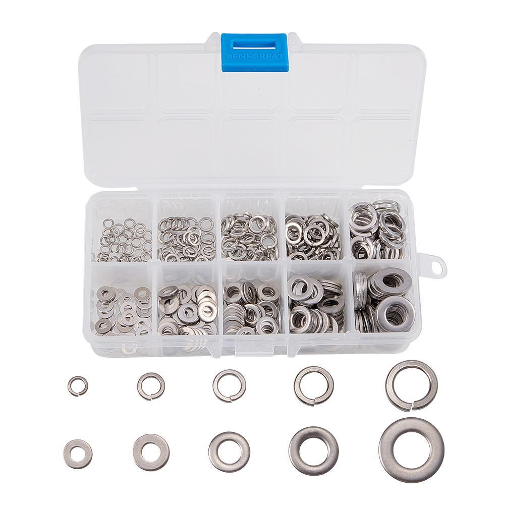 5 Sizes Lock Washers Kits-INC-HW01-078