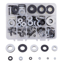 Load image into Gallery viewer, 480 Pcs Nylon Flat Washers-INC-HW01-093