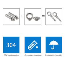 Load image into Gallery viewer, M8x60mm Eye Bolts-INC-HW01-165