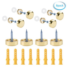 Load image into Gallery viewer, 8 Sets 19mm Mirror Screws-INC-HW02-010
