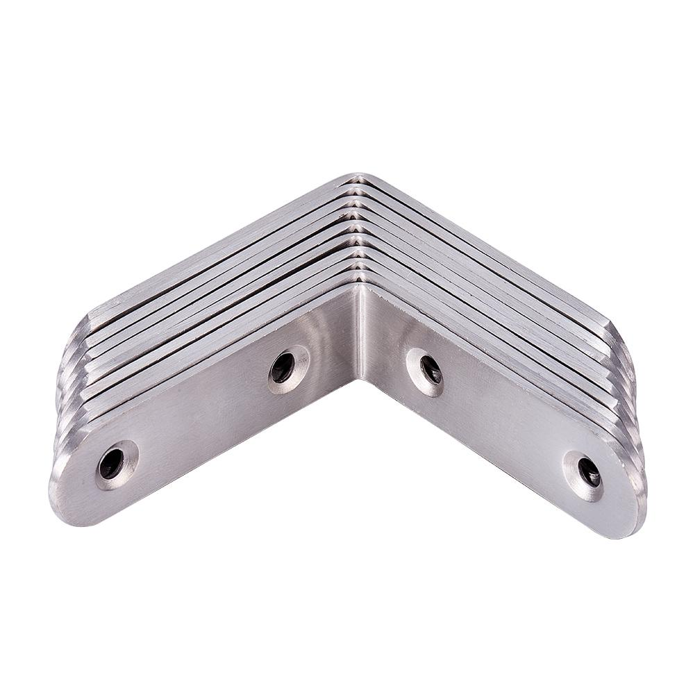 10 Packs 65x65mm L Bracket Corner Brace-INC-HW03-005