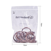 Load image into Gallery viewer, 16 Pcs Curtain Rings(Red Bronze)-INC-HW05-048