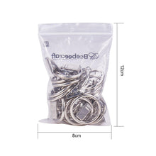 Load image into Gallery viewer, 16 Pcs Curtain Rings(Silver)-INC-HW05-056