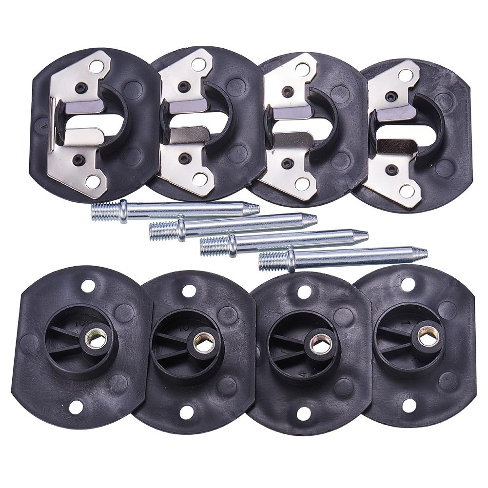 4 Sets Sofa Couch Sectional Connector with Screws-INC-HW06-022