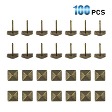 Load image into Gallery viewer, 100 Pcs Bronze Upholstery Decorative Furniture Tacks-INC-HW06-080