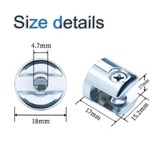 Load image into Gallery viewer, 8 Pack Glass Clip Clamp for 6-8mm Thickness Glass-INC-HW06-118