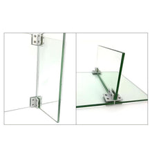 Load image into Gallery viewer, 180 Degrees Adjustable T Shape Glass Shelf Support Bracket-INC-HW06-230