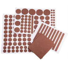 Load image into Gallery viewer, 132pcs Self-Stick Furniture Felt Pads Anti-Skid Furniture Pad Grippers-INC-HW07-013-014