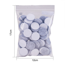 Load image into Gallery viewer, 100pcs Light Grey Self-Stick Furniture Round Felt Pads-INC-HW07-016