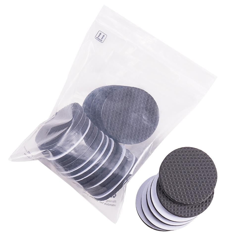 24pcs Black Self-Stick Furniture Pads-INC-HW07-023