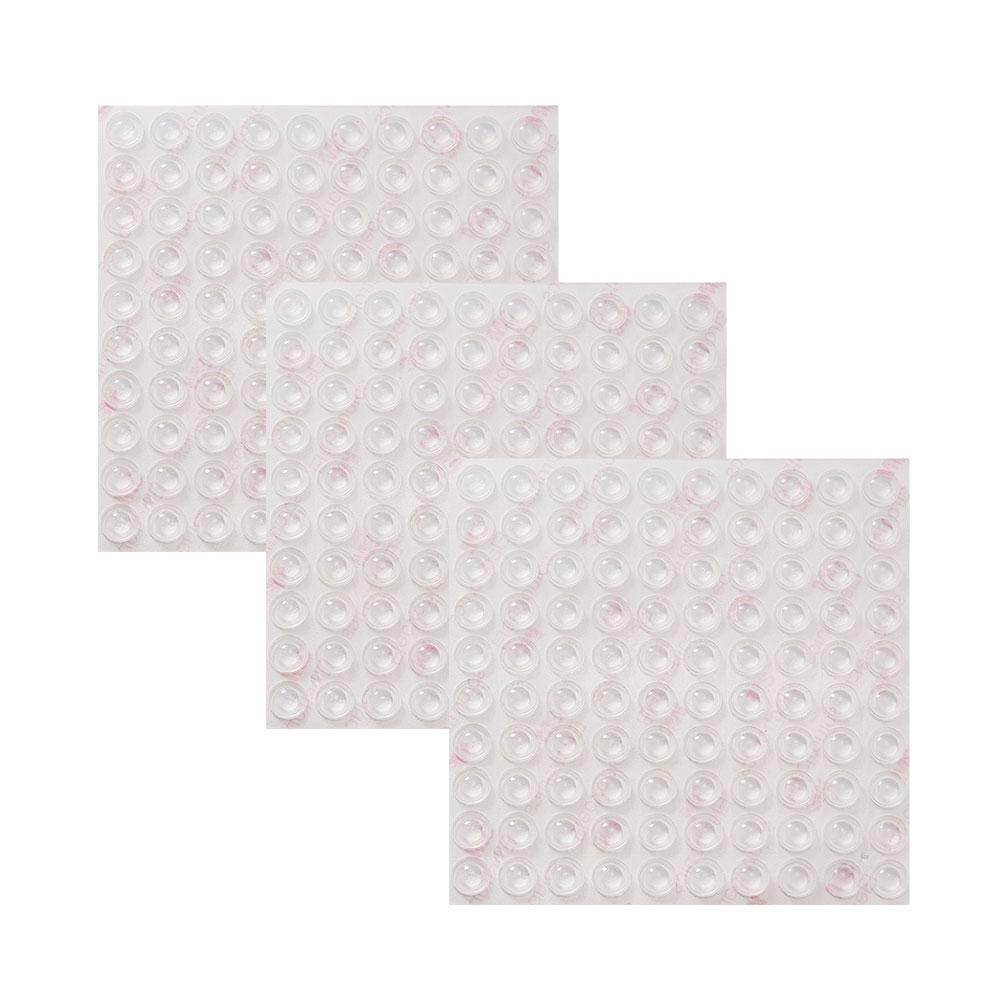 300 Pcs Self Adhesive Clear Bumper Pads-INC-HW07-025