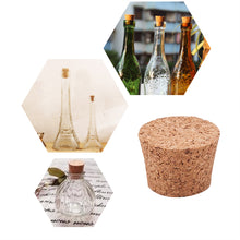 Load image into Gallery viewer, 120pcs 1/2 Mini Tapered Wooden Cork Bung Stopper-INC-HW07-093
