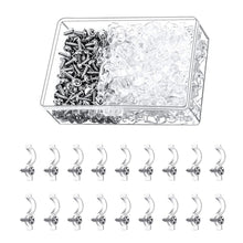 Load image into Gallery viewer, 300pcs Transparent LED Strip Fixed Clips for 8mm Lamp Belt-INC-YF05-199