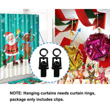 Load image into Gallery viewer, 40pcs 1.9inch Laundry Hooks for Hanging Towel/Coat,Black -INC-YF05-211