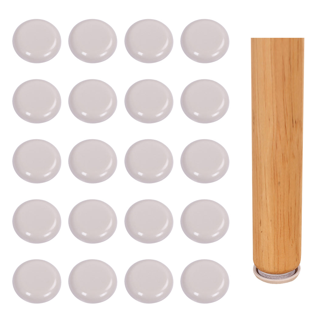 30 Pcs 25mm Self-Stick Furniture Sliders-INC-YF07-127-US8
