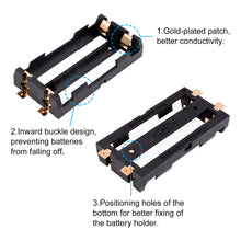 Load image into Gallery viewer, 2Pcs 2 Slots Battery Holder Case-INC-YF16-039-US8
