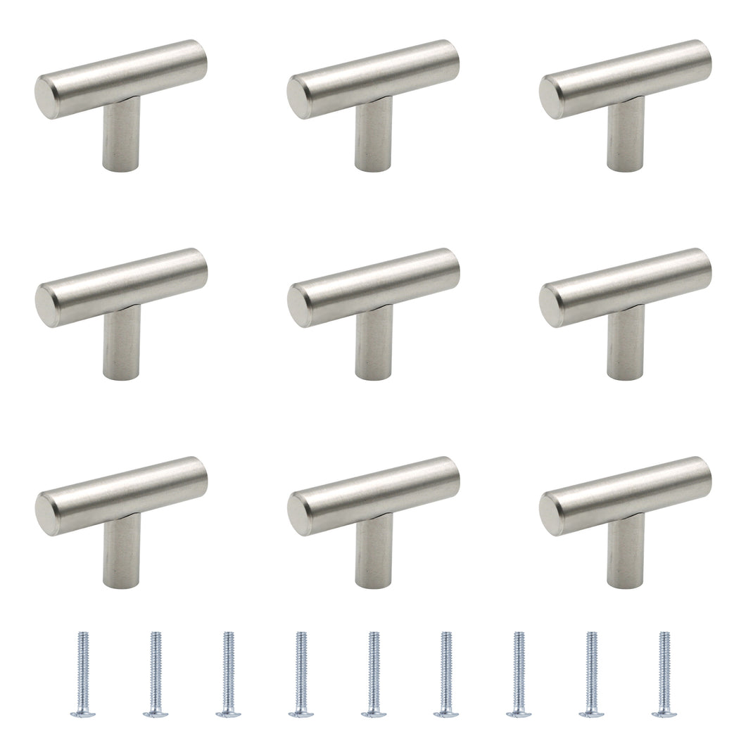 10PCS T-Shaped Single Hole Handles-HO-MF000557-US