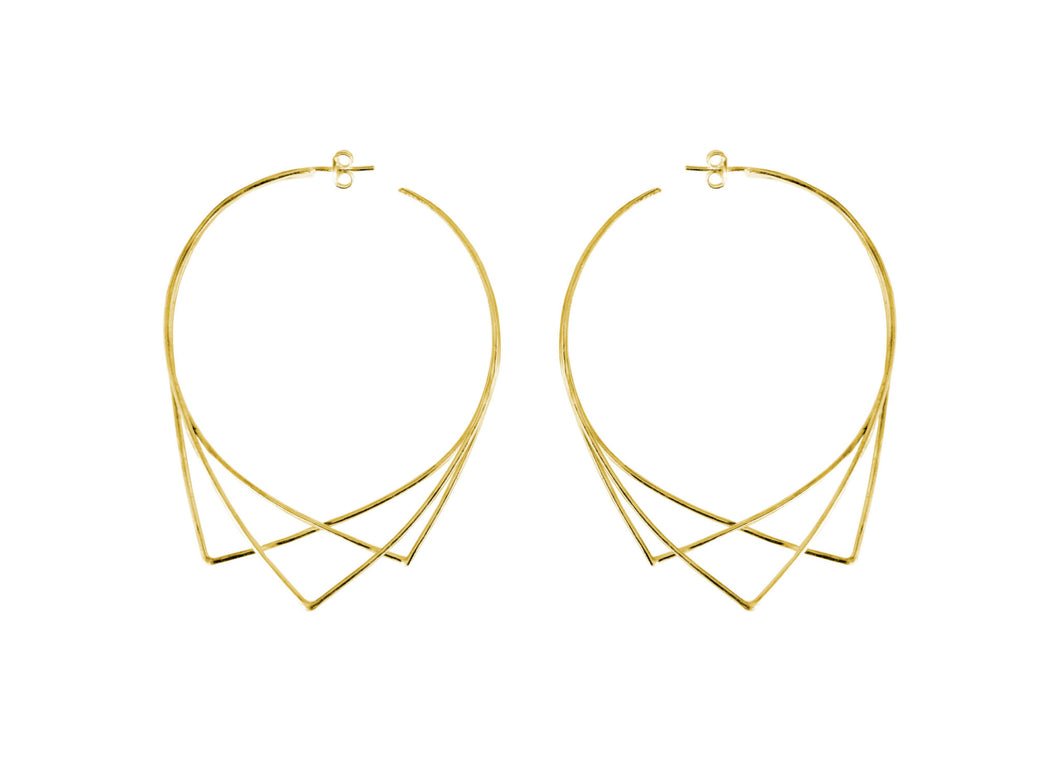 Urbs XL Earring Gold Plated