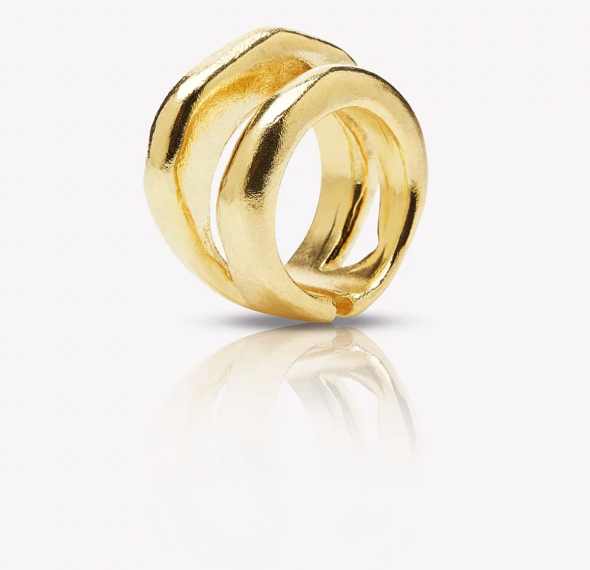 Sanjay Ring Gold Vermeil