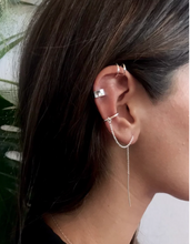 Load image into Gallery viewer, Ear Thread + Wire Cuff