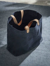 Load image into Gallery viewer, Large Waxed Cotton Tote Bag