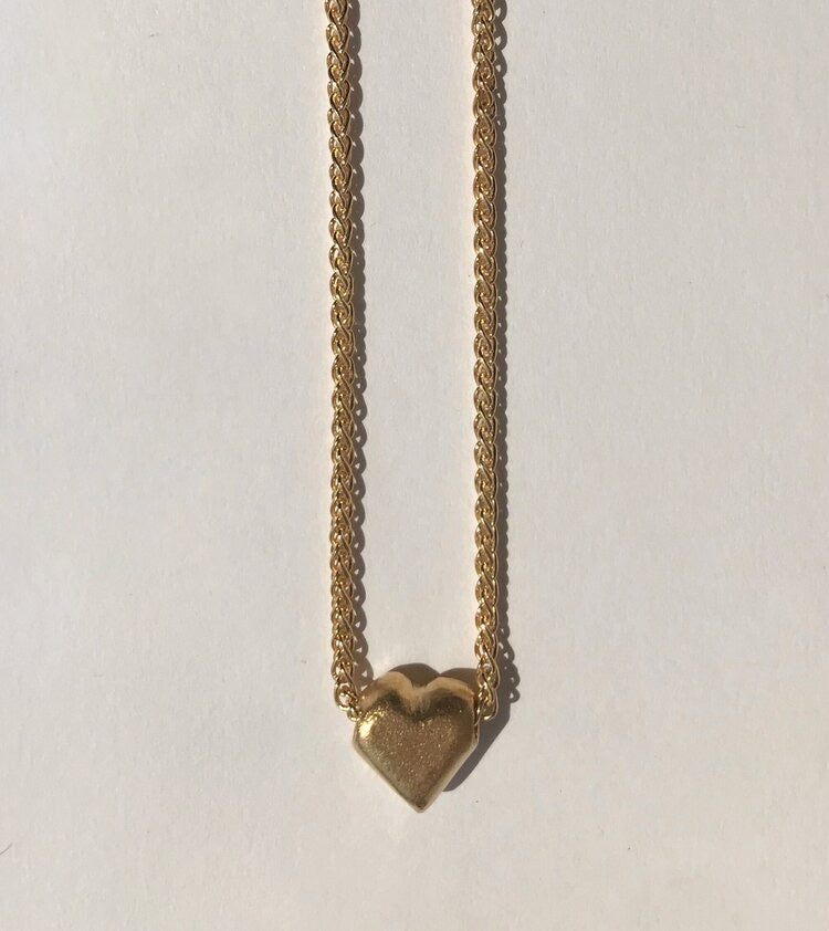 Copy of Love Token Gold Plated Sterling Silver Necklace