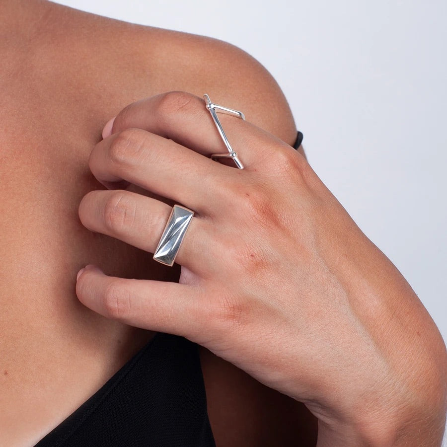 Chunky Ring Sterling Silver