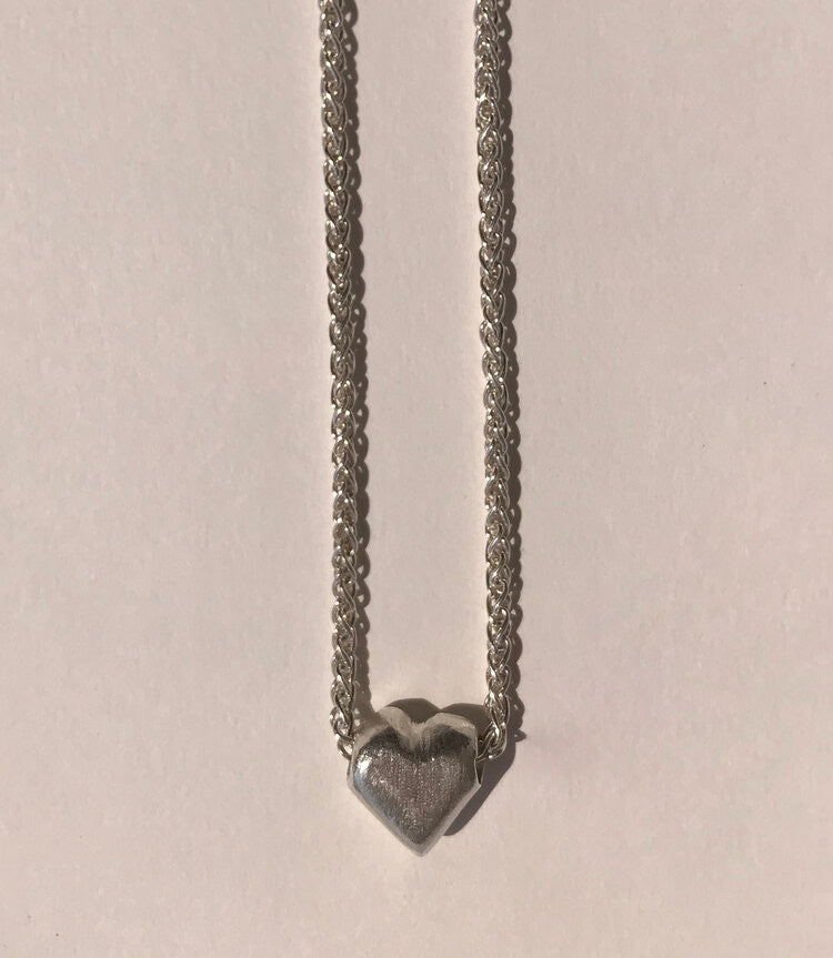 Love Token Sterling Silver Necklace