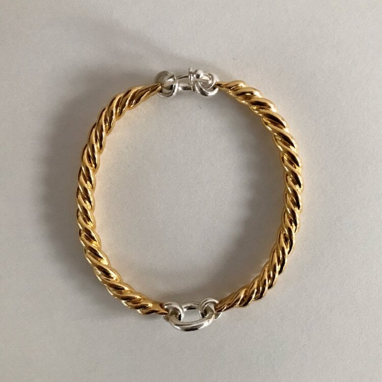 Brody Bracelet 18CT Gold Plated Bronze