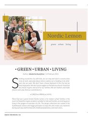 Article about Nordic Lemon brand from Latvia