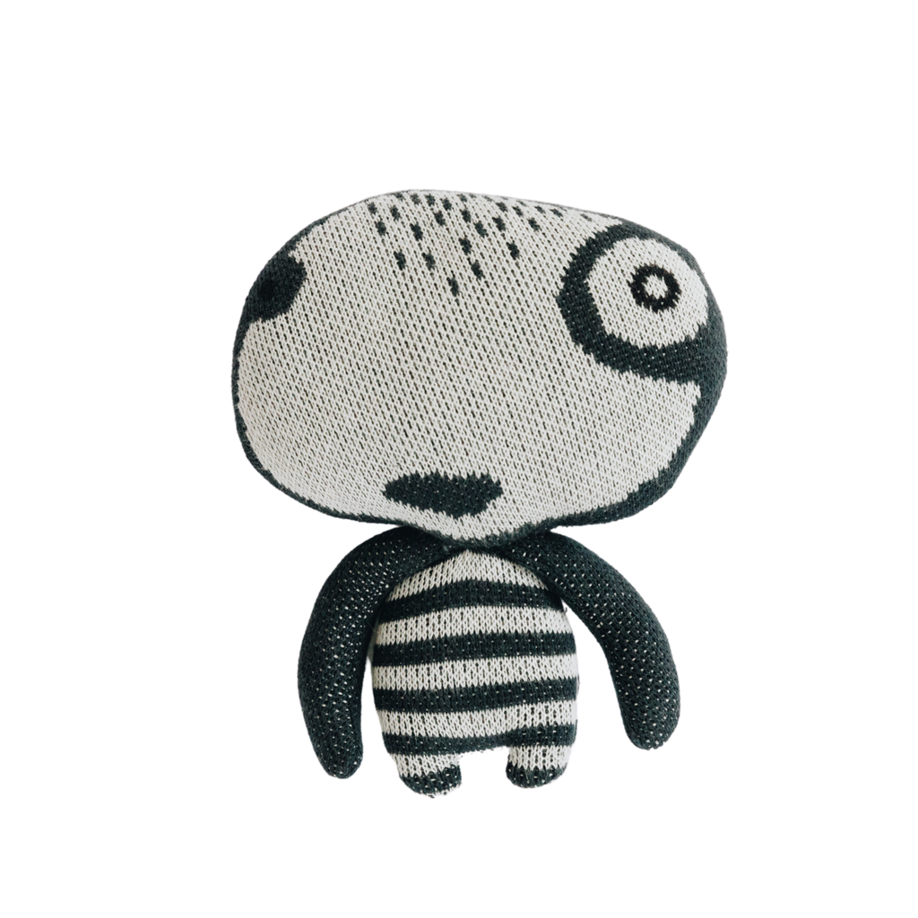 Nordic lemon introduces mini interior collection featuring yeti toy from GOTS organic cotton.