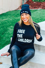 Load image into Gallery viewer, Free the Children (Unisex Long-Sleeve Shirt)
