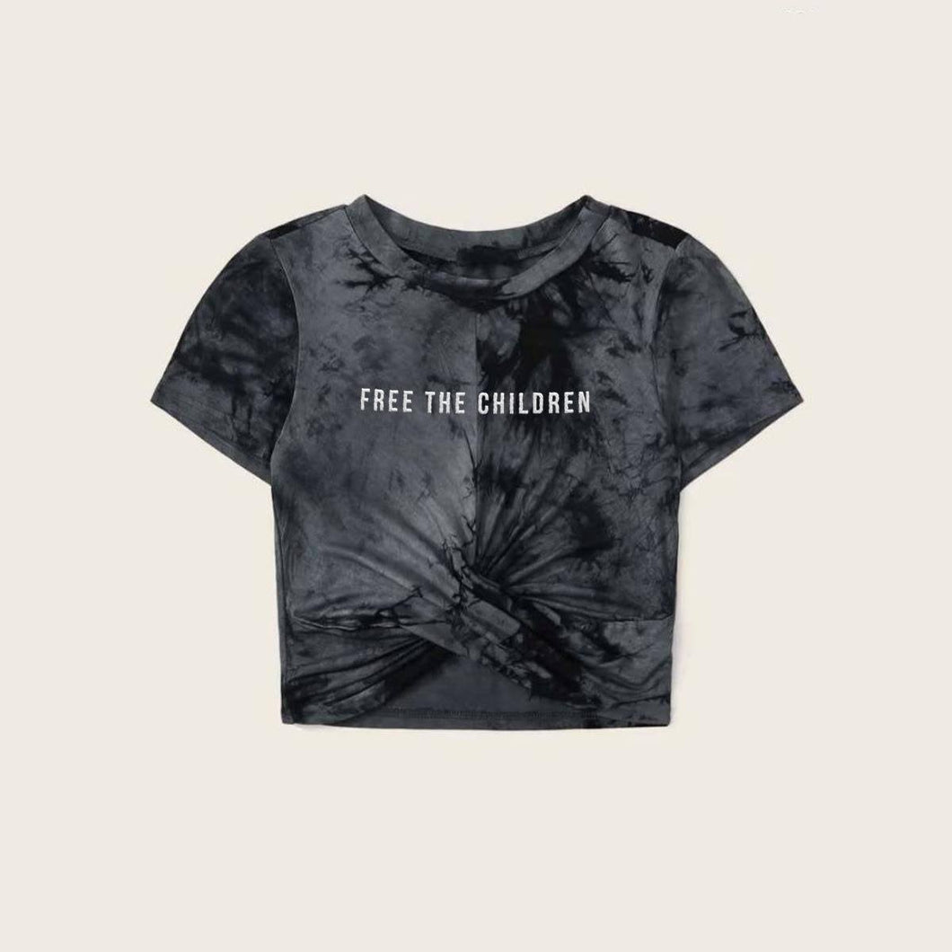 INH Free The Children T-Shirt - Black